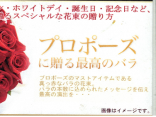 バラの花束:bo-020